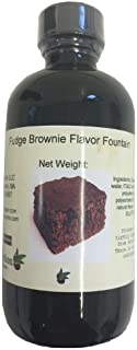 OliveNation Fudge Brownie Flavor Fountain, 8 Ounce