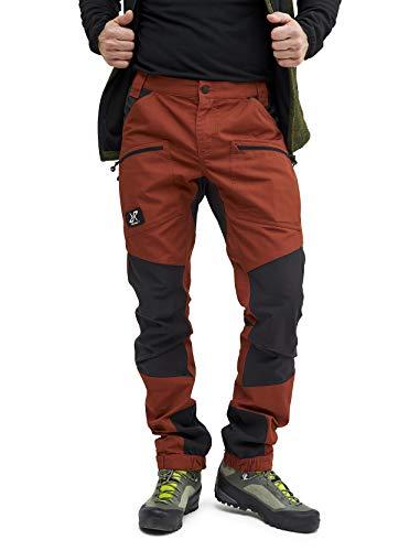 RevolutionRace Nordwand Pro Pants Herren Wasserabweisende, Atmungsaktive und Strapazierfähige Outdoorhose zum Wandern, Trekking, Camping, Klettern, Mountainbiken und Jagen, Rusty Orange, XXL