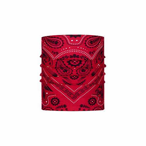 Buff New Cashmere Tubular Haustiere, Unisex, für Erwachsene M Rot