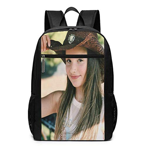 School Bag Travel Daypack, Annie Cowboy Leblanc Backpacks Travel School Large Bags Shoulder Laptop Bag for Men Women Kids