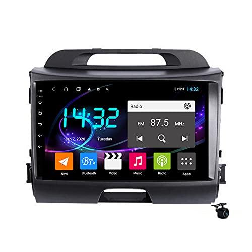 Android 10.0 Coche Estéreo Radio SAT NAV para KIA SPORTAGE 3 SL 2010-2016 GPS Navigation 2 Din Head Unit Multimedia Video Player FM Receptor Tracker con 4G 5G WIFI SWC DSP Carplay,M200s