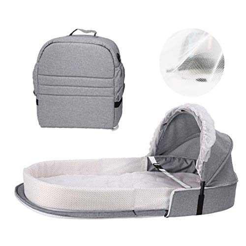 Portable Baby Bed, Toddler Travel Bed or Bassinet