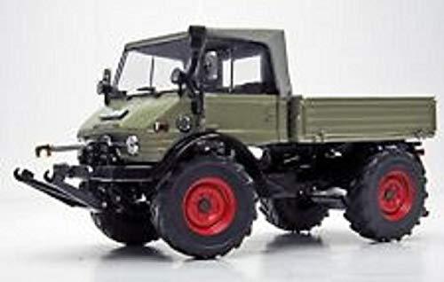 Weise-Toys Unimog 406 (U84) mit Faltverdeck, LKW-Grau 1066 (1:32)_NEU/OVP
