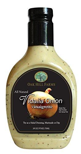 Oak Hill Farms Salad Dressings, Vidalia Onion Vinaigrette, 24 Ounce (Pack of 6)