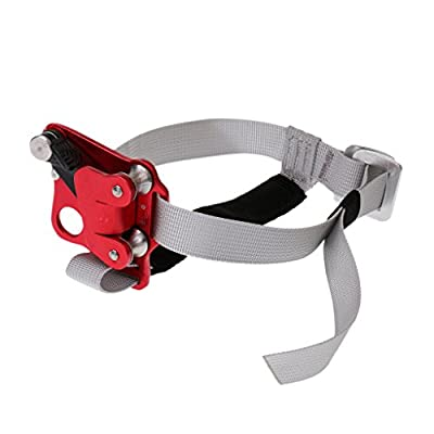 MonkeyJack Safety Foot Ascender Riser Rock Climbing Mountaineering Equipment Gear Device Tool Protector Accessories for Left/Right Foot