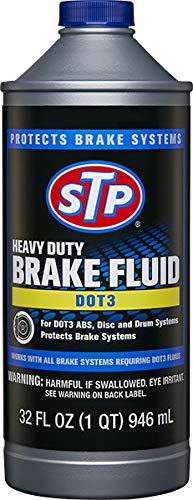 STP Heavy Duty Brake Fluid for DOT 3, 32 Fl Oz, Pack of 1, 18668