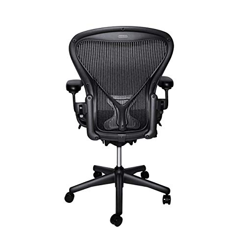 Herman Miller Classic Aeron Chair - Size B, Posture Fit (Renewed)