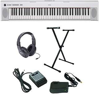 Yamaha Piaggero NP-32 Ultra-Premium Keyboard Package with He