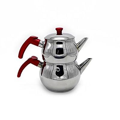 Stainless Steel Turkish Tea Pot Size No :1