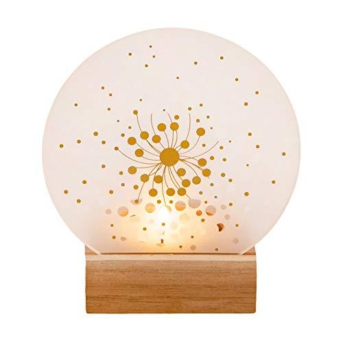 Räder Glaspoesie Teelicht Blüte