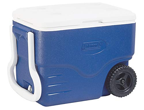 Coleman 40 QT Performance Wheeled Cooler - Nevera con Ruedas, Capacidad de 37.5 litros, Nevera...