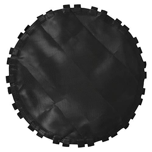 ABOOFAN Trampolín de repuesto negro de repuesto para trampolín de trampolín redondo con gancho (negro)