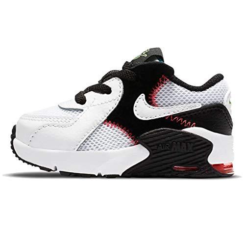Nike Schuhe Air Max ExCEE (TD) Code CD6893-103, Weiß - Bianco Nero Rosso - Größe: 25 EU