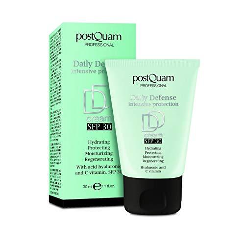 Postquam | DD Cream Iluminadora con Ácido Hialurónico, Vitamina C y Filtro Solar SPF30, 30ML