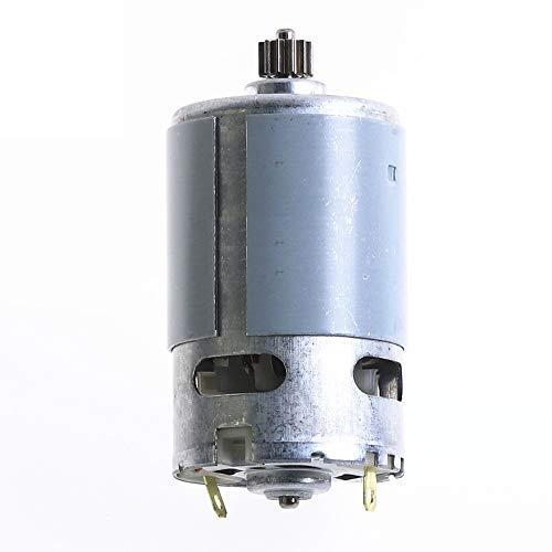 Haoweiwei HWW-DDJQD, 1PC Estable eléctrico RS550 Motor 12V / 16,8V / 21V 12 Dientes de Engranaje 1.0 Molde de 3 mm Diámetro del Eje.por inalámbrico de Carga Destornillador Taladro (Size : 16point8V)
