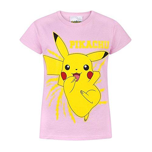 Pokemon Pikachu Bolt Girls T-Shirt (13-14 Years)