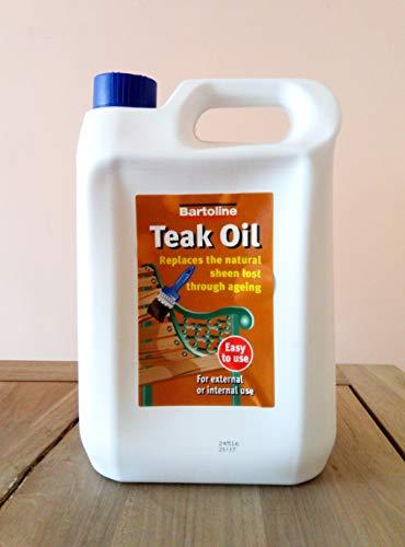 Bartoline Teak Oil 5 Litre by Bartol