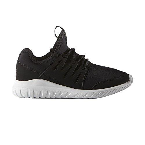 Adidas Tubular Radial Kids Trainer - Black/Black/White - 11 UK Kids