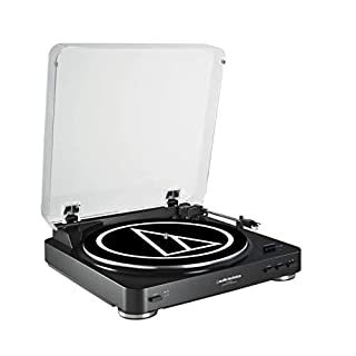 Audio-Technica AT-LP60BK Fully Automatic Belt Driven Turntable - Black by Artist Not Provided (B008872SIO) | Amazon price tracker / tracking, Amazon price history charts, Amazon price watches, Amazon price drop alerts
