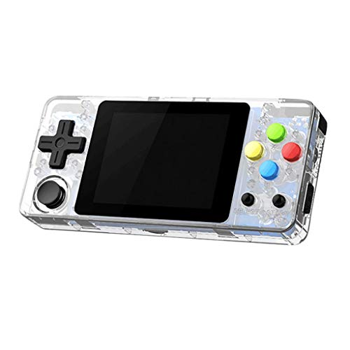 Wanshop Handheld Spielkonsole Retro Spielkonsole Games Portable Spielkonsole Thumbs Mini Handheld Palm Palm Konsole Kindern (klar)