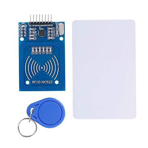 AZDelivery ⭐⭐⭐⭐⭐ 3 x RFID Kit RC522 13,56MHz con Lector Chip y Tarjeta para Arduino y Raspberry Pi con ebook Gratis!
