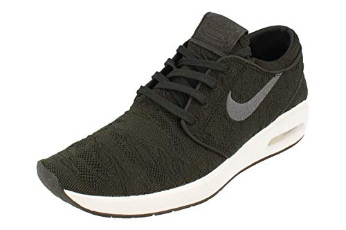 Nike Men's Low-Top Sneakers, Black/Anthracite-White, 11 UK