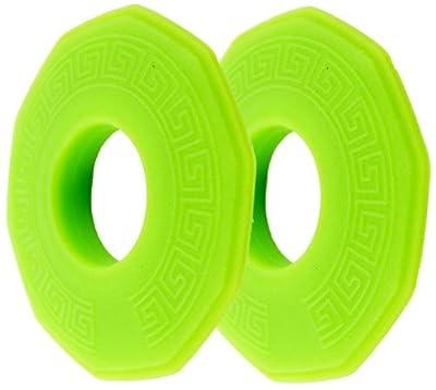 Seattle Sports Glow in The Dark Seawall Drip Rings for Kayak Paddles - Neon Green