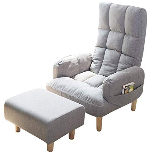 Accent Sofa Chair Casual Chair Recliner Lounge Chair Couch Barrel Club Seat Armchair Lazy Sofa Leisure Recliner Deck Chair Dining Chair Patio Garden Chair Sun Lounger Couch Side Chair (Color : E)
