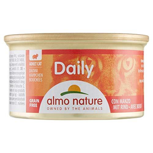 Recettes Almo Nature Classic daily menu pour chat Morceaux boeuf,