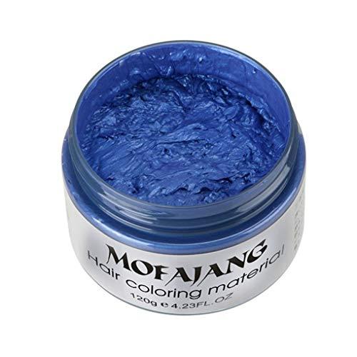 Meisijia Colori Muitl Temporary Hair Dye Cream Fai da Te Colore dei Capelli Cera di Fango di Una Volta stampaggio Modeling Paste Capelli Crema Colorante