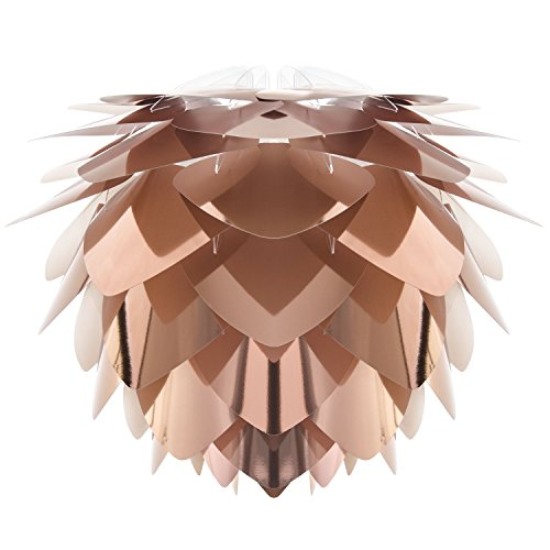 VITA design lanterne silvia copper (diamètre : 45 cm-hauteur : 45 cm/e26 e27–max 60 w