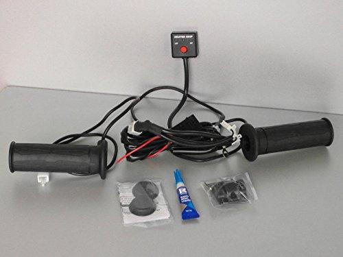 Quad/ATV Heizgriffe mit Daumenwärmer. Elektronisch geregelte Griffheizung mit Daumenheizung