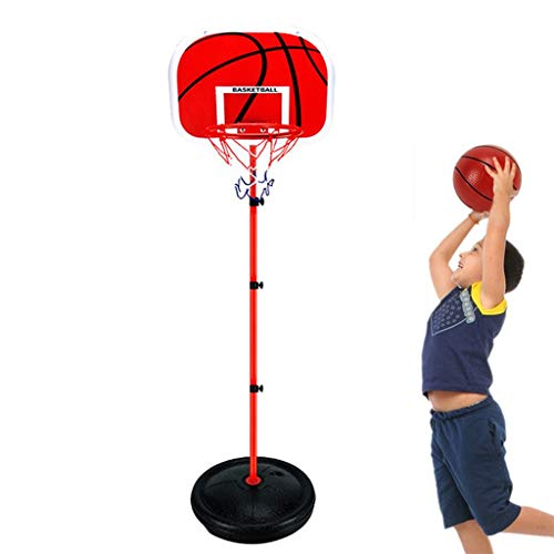 Review Of YONGMEI Adjustable 170cm Basketball Hoop Set with Two Balls,Free Standing Portable Basketb...