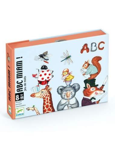 Djeco ABC Miam Juegos de Cartas (35147)