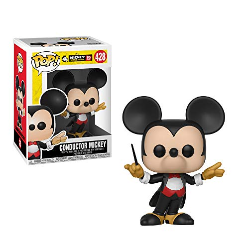 Funko Pop Disney: Mickey's 90Th - Conductor Mickey Collectible Figure, Multicolor