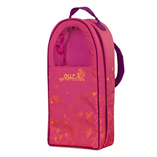 Our Generation BD37429Z Doll Bag Pink