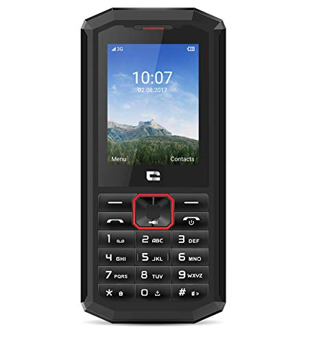 Crosscall Spider-X5 Mobiltelefon (2,4 Zoll - 64 GB internal Speicher - Dual SIM) Schwarz