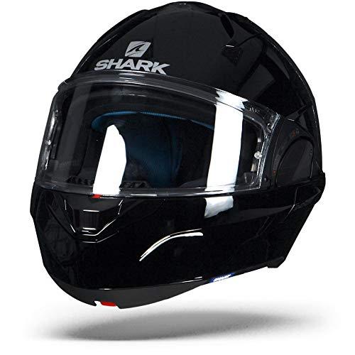 Casco de moto Shark EVO-ONE 2 BLANK BLK, Negro, XL