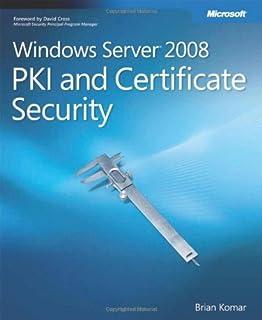 Windows Server® 2008 PKI and Certificate Security (0735625166) | Amazon price tracker / tracking, Amazon price history charts, Amazon price watches, Amazon price drop alerts