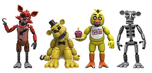 Five Nights at Freddys Pack de 4 Figuras Set (2'')