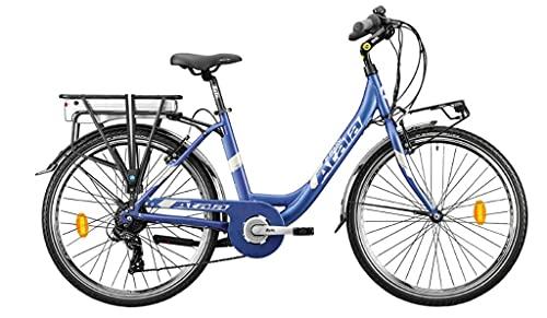 Atala E-Run 6.1 Lady 360 - Bicicleta eléctrica con pedaleo asistido
