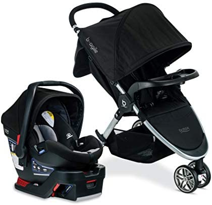 Britax B Agile B Safe 35 Travel System Dual Comfort Collection product image