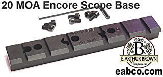 E. Arthur Brown Company, Inc. Thompson Center T/C Encore Pro Hunter 20 MOA Scope Mounting Base by EABCO