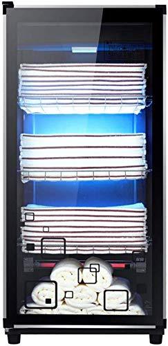YJT.mjxdg Armadio per sterilizzatore a ozono UV 3 in 1 Scaldasalviette Caldo per scaldasalviette, per Salone da Ristorante Spa Massaggio Bellezza dei Capelli (4 Livelli)