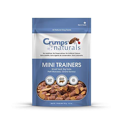 Crumps' Naturals Mini Trainers Beef (Semi-Moist) (1 Pack), 120G/4.2 Oz
