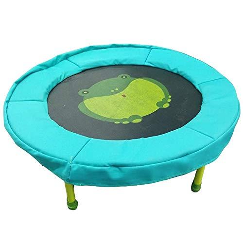 UIZSDIUZ Familia de los niños de Interior pequeño trampolín Circular patrón Trampolín-Fitness Primavera Cama Home Fitness Equipment