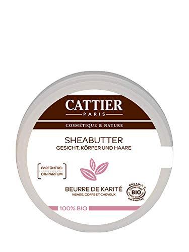 Cattier Organic shea batala - Mtsuko wa 100g