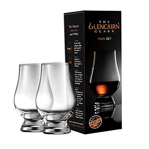 Glencairn - Juego de vasos de whisky (2 unidades)