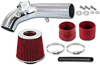 R&L Racing Red AIR INTAKE KIT FOR MITSUBISHI 08-14 Lancer 2.0L / 2.4L L4 N/A (Will not fit Evo or Ralliart)