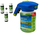 Pulvérisateur De Semences Innovant Hydro Mousse Liquid Lawn Fertiliser Liquid Lawn System Grass Seed Sprayer for Seed Lawn Grass Shot Household Seeding System with Nutrient solution (3pcsliquids)